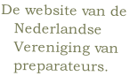 De website van de 